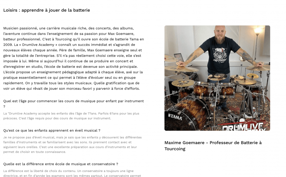 Interview Max Goemaere